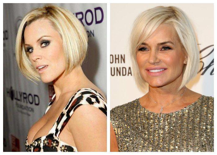 Короткие стрижки для женщин 40 лет: каре на короткие волосы (фото)