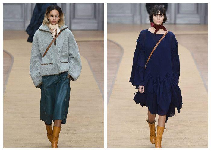 Модная одежда 2017 фото: коллекция Chloe