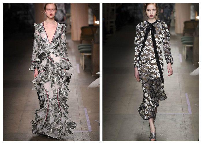 Модная одежда 2017 фото: коллекция Erdem