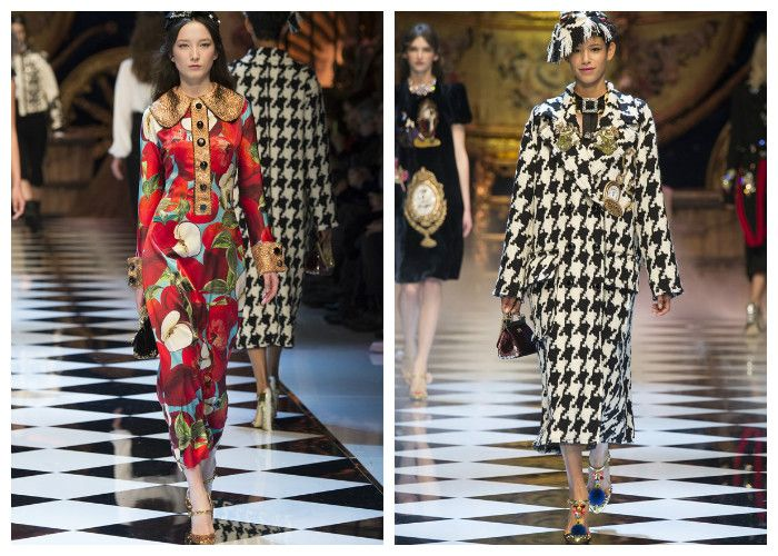 Модная одежда 2017 фото: коллекция Dolce&Gabbana