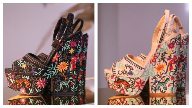 Модные босоножки на платформе Sergio Rossi
