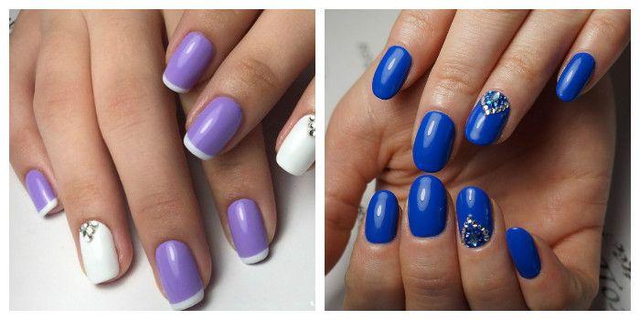 Покраска ногтей гель лаком в домашних условиях, фото и 10