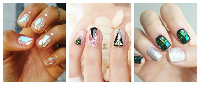 Домашний дизайн ногтей, фото