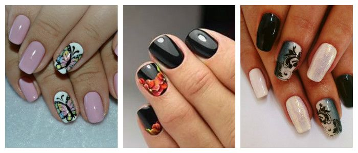 Домашний дизайн ногтей фото