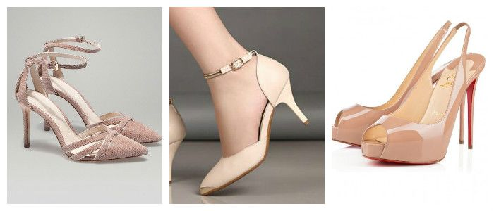 """Shoes 2016 in the style of """"Nude"""""""