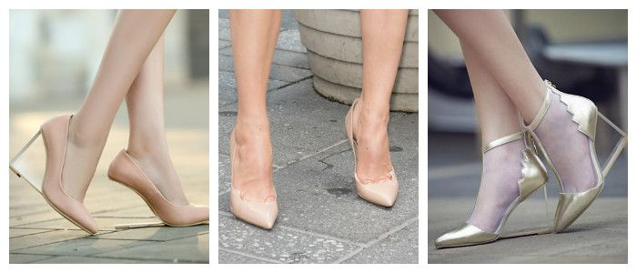 Туфли 2016 в стиле «Нюд»