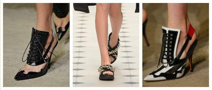 Туфли 2016 со шнуровкой