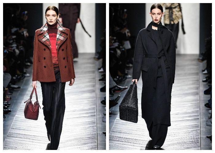 Модные тенденции 2017: пальто Bottega Veneta, фото