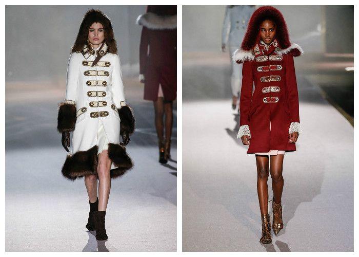 Модные тенденции 2017: пальто Ermanno Scervino, фото