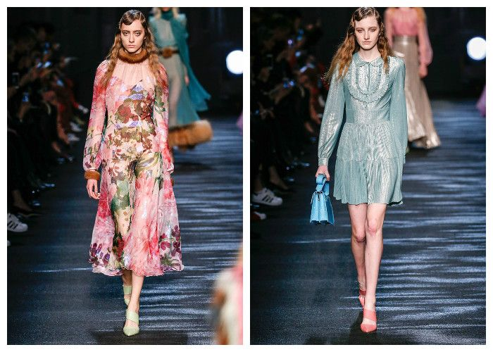 Модные тенденции 2017: платья Bluemarine, фото