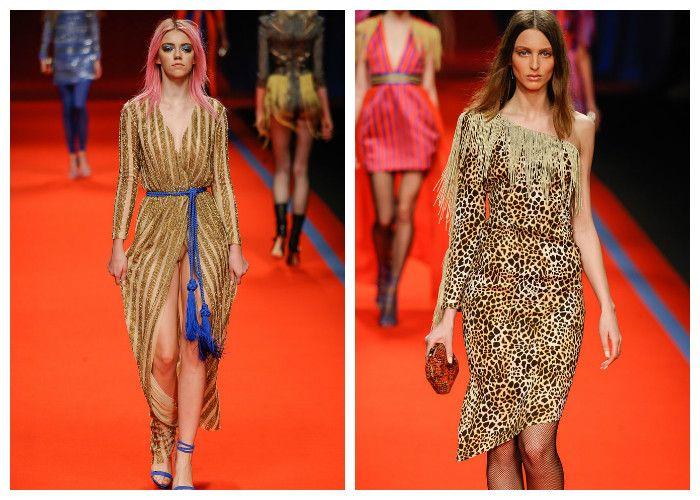 Модные тенденции 2017: платья Elisabetta Franchi, фото