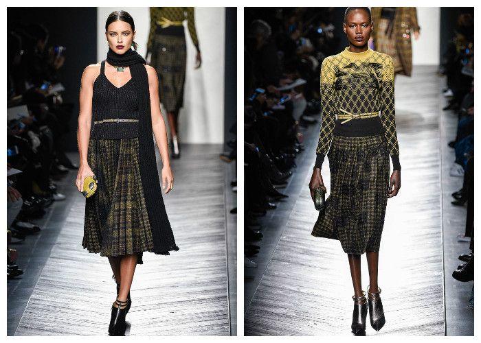 Модные тенденции 2017: юбки Bottega Veneta, фото