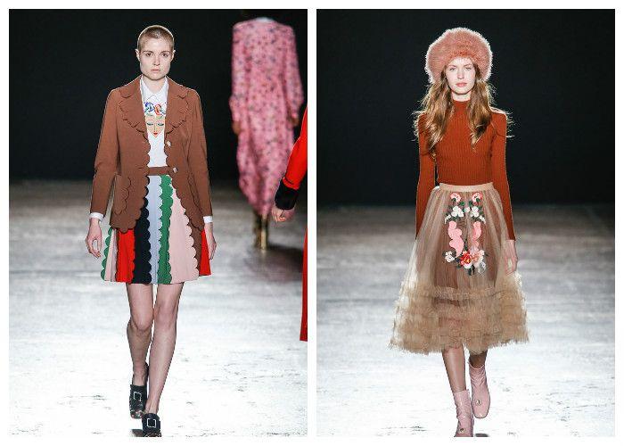 Модные тенденции 2017: юбки Vivetta, фото