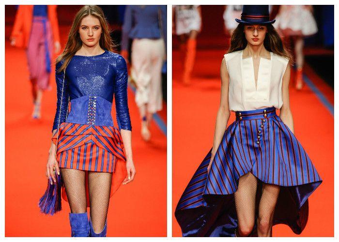Модные тенденции 2017: юбки Elisabetta Franchi, фото