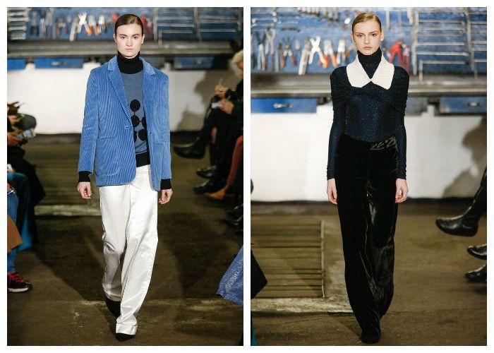 Модные тенденции 2017 года: брюки Arthur Arbesser, фото
