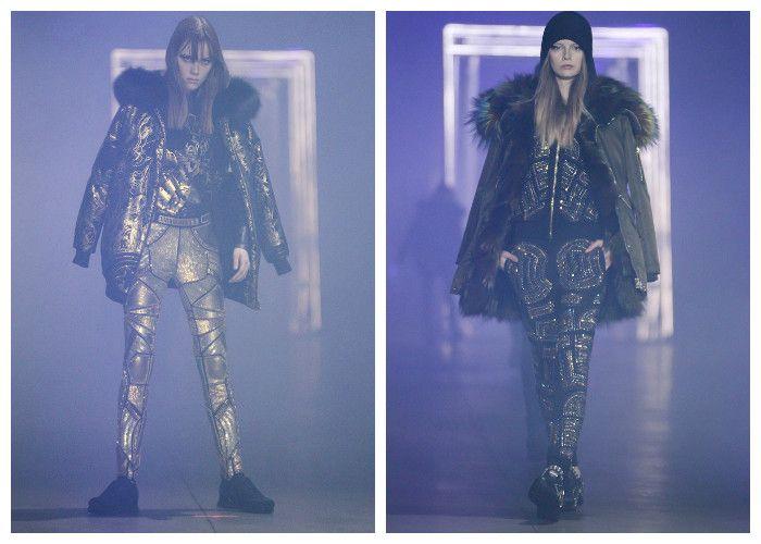 Модные тенденции 2017: пуховики Gabriele Colangelo, фото