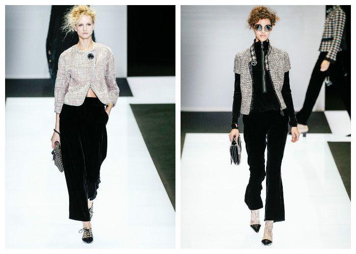 Модные тенденции 2017 года: брюки Giorgio Armani, фото