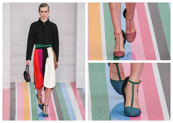 Модные тенденции 2017 года: обувь Salvatore Ferragamo, фото