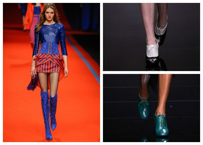 Модные тенденции 2017 года: обувь, фото