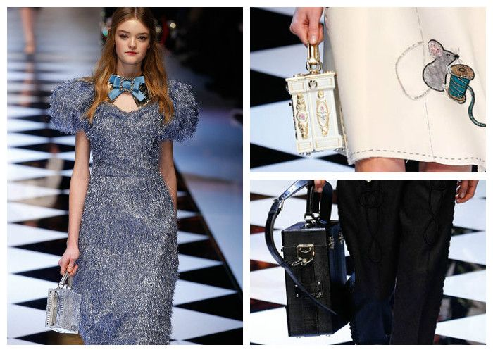Модные тенденции 2017: сумки Dolce & Gabbana, фото