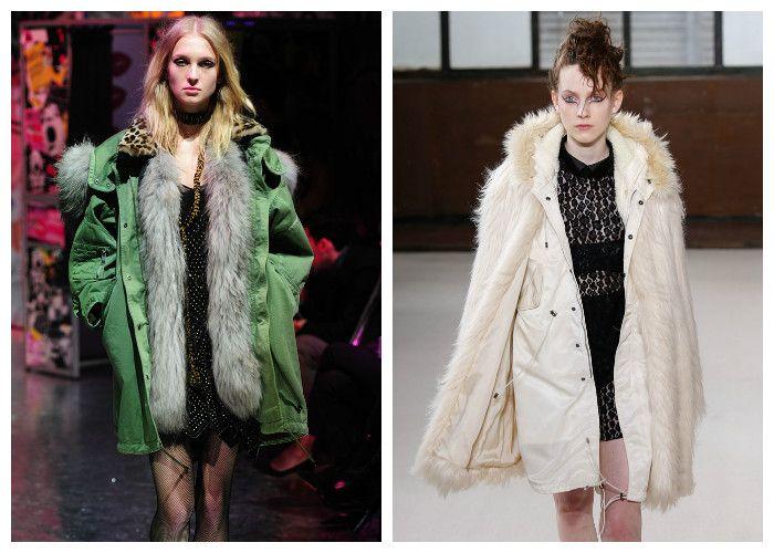 Модные тенденции 2017: пуховики, фото