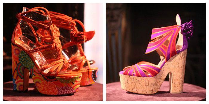 Модные туфли на платформе Brian Atwood