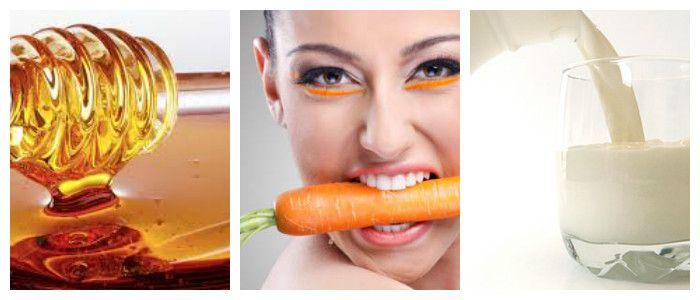 Морковная маска для лица: рецепты