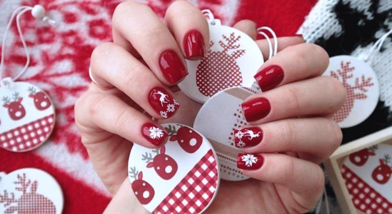 ТОП ИДЕЙ: новогодний маникюр на Новый год 2020: новогодний дизайн ногтей - фото идеи, новинки, тренды