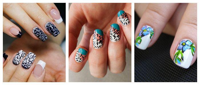 Рисунки на ногтях в домашних условиях: акриловыми красками, фото
