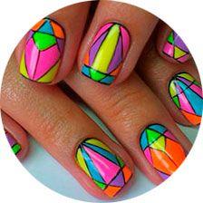 Рисунки на ногтях в домашних условиях, фото