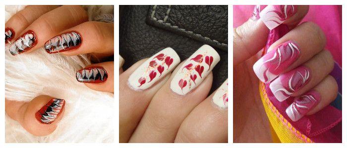 Рисунки на ногтях в домашних условиях: иголкой, фото