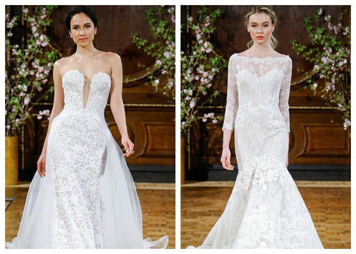 Свадебные платья новинки: кружевные, фото