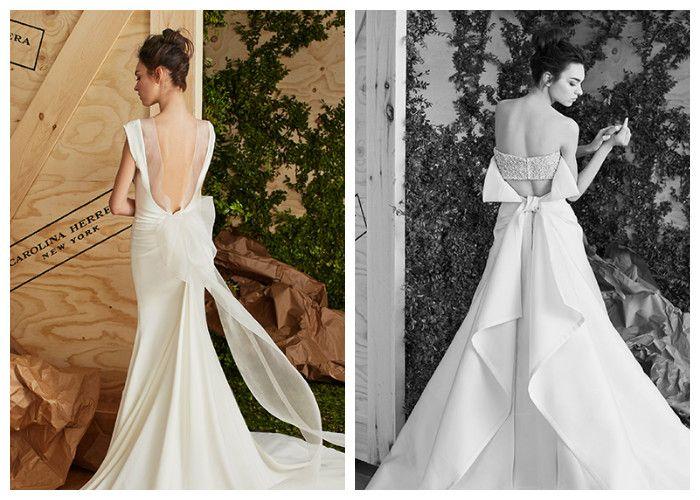 Свадебные платья новинки: с открытой спиной, фото