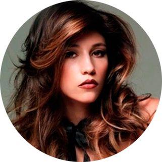 Брондирование волос на темные волосы, фото