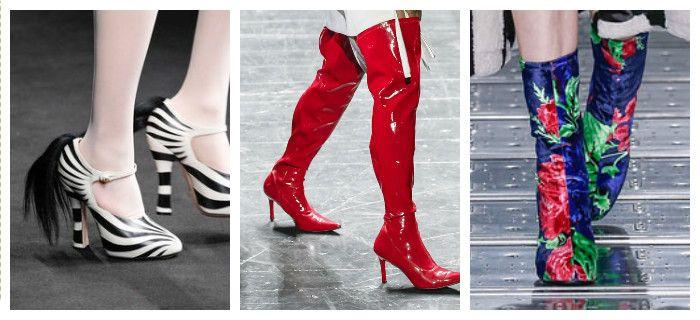 Модная обувь осень-зима 2016: актуальные цвета и принты