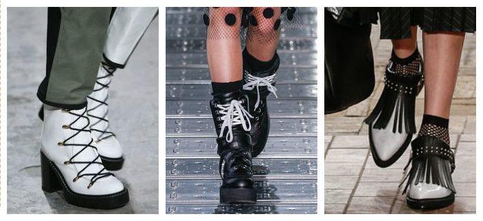 Модная обувь осень-зима 2016: ботинки, фото