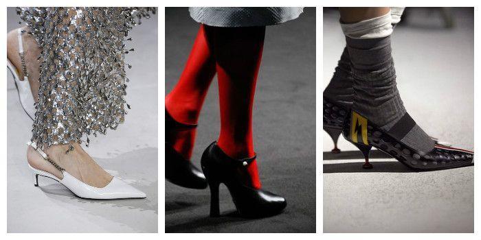 Модная обувь осень-зима 2016: туфли, фото
