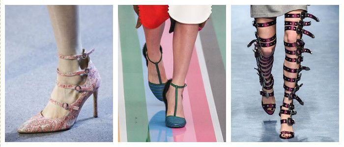 Модная обувь осень-зима 2016 - 2017 фото