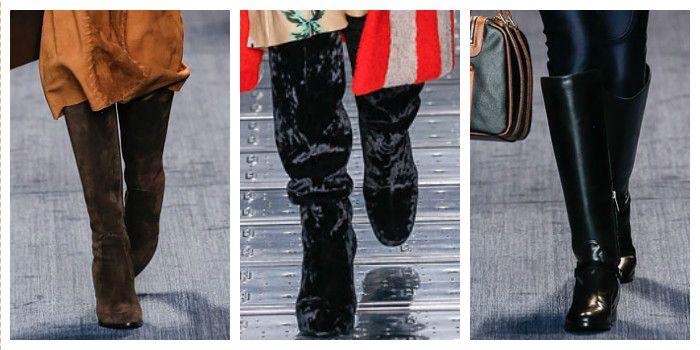 Модная обувь осень-зима 2016, фото лучших моделей