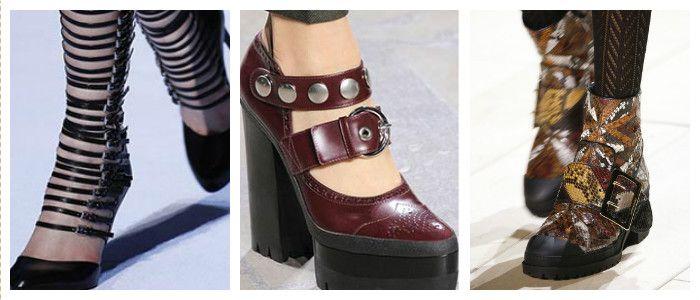 Модная обувь осень-зима 2017