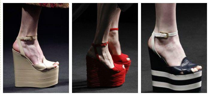 Модная обувь осень-зима 2016 - 2017, фото