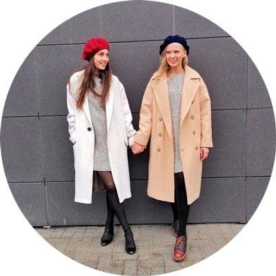 болоньевое пальто осень фото