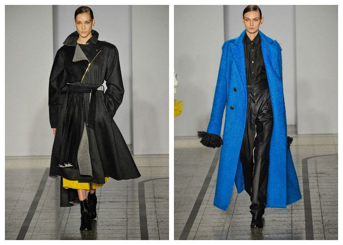 Модные длинные пальто 2017, фото