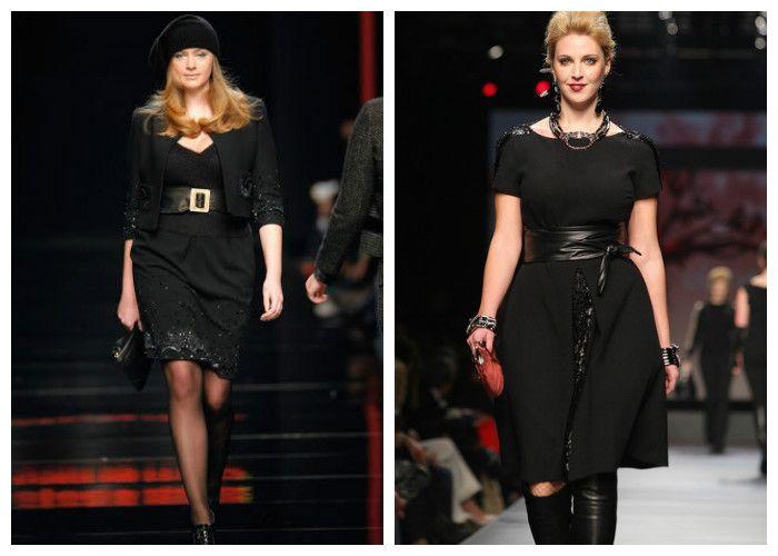 Одежда для полных женщин, фото. Все знают, что черный цвет стройнит. Особенно если это черное платье-карандаш или с свободной юбкой-солнце. Подчеркнуть талию можно широким поясом.Одежда для полных женщин, фото. Все знают, что черный цвет стройнит. Особенно если это черное платье-карандаш или с свободной юбкой-солнце. Подчеркнуть талию можно широким поясом.