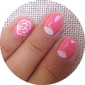 Видео-урок: Розовый летний лунный маникюр гель-лаком