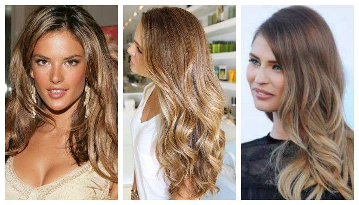 Разные виды брондирования волос, фото