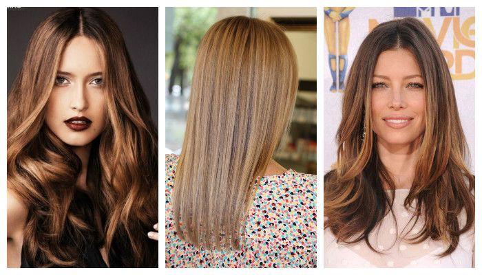 Брондирование волос на темные волосы - новинка в колорировании, фото
