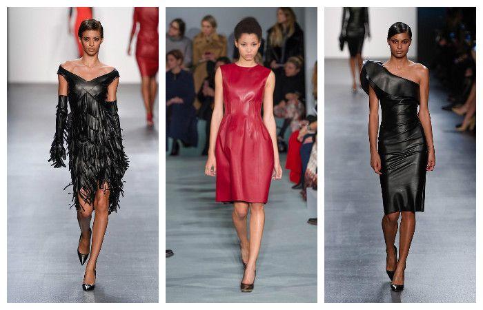 Модные тенденции осень - зима 2016 - 2017, фото из коллекций Oscar de la Renta ,Chiara Boni La Petite Robe