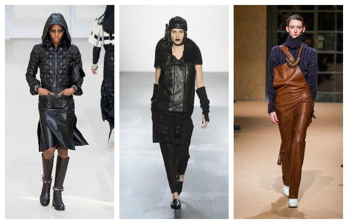 Модные тенденции осень - зима 2016 - 2017, фото из коллекций Esteban Cortazar, Chanel, Nicholas K