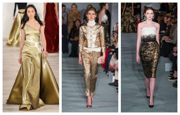 Модные тенденции осень - зима 2016 - 2017, фото из коллекций Oscar de la Renta, Ralph Lauren